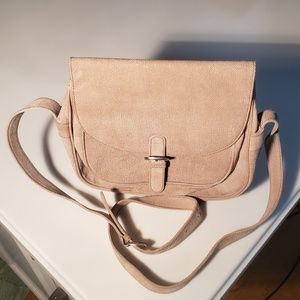 Giorgio Armani Tan Suede Handbag - Very Good